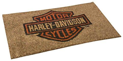 Harley-Davidson Core Bar & Shield Coco Entry Mat, 30 x 18 inches HDX-99104