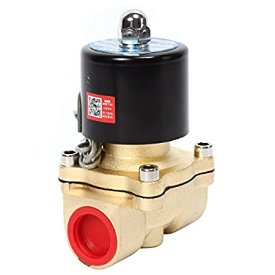 SNS 2W200-20/DC12V 3/4 NPT Brass Electric Solenoid Valve Normally Closed Water, Air, Diesel from China SNS Pneumatic Co.,Ltd
