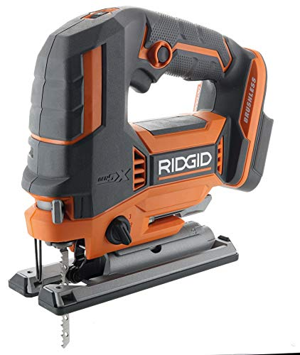 Ridgid R8832B OCTANE 18V Lithium Ion Cordless Brushless Jig Saw w/ Dust Blower and Orbital Action (Battery Not Included / Power Tool Only)