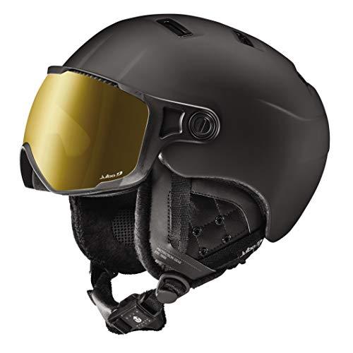 Julbo Sphere - Casco de esquí (Bluetooth, con Visera REACTIV fotocromática, para Hombre, Negro, 56/58