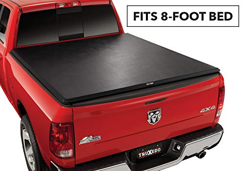 TruXedo TruXport Soft Roll Up Truck Bed Tonneau Cover | 248901 | fits 09-18, 19-20 Classic Ram 1500, 2500, 3500 with or without Multifunction tailgate 8' bed