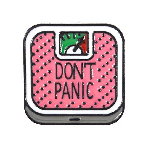 JTXZD broche meisjes 's Daily pin emaille crème ijs make-up potlood regenboog broche broche denim jeans hemdtas cartoon