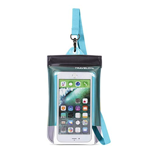 Price comparison product image Travelon Floating Waterproof Smart Phone / Digital Camera Pouch,  Blue