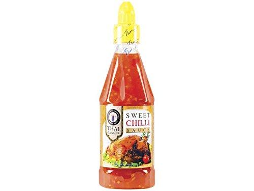 süße Chilisauce z.B. für Frühlingsrollen, sweet Chilli sauce, Dipp, soße, 435ml