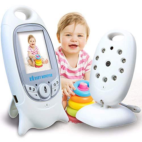 Babyphone mit Kamera,Smart Baby Monitor Gegensprechfunktion Digital kabellose Überwachungskamera,Schlafmodus, Nachtsicht, Temperatursensor, Schlaflieder (babyphone)
