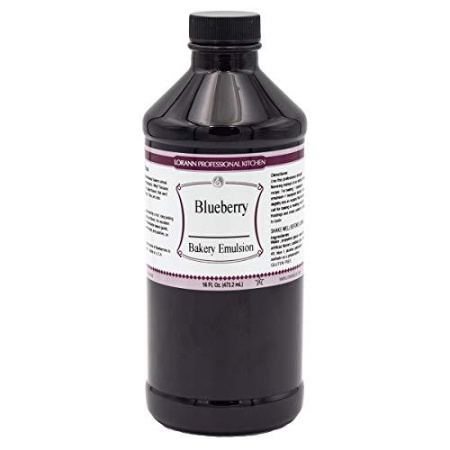 LorAnn Blueberry Bakery Emulsion, 16 ounce bottle