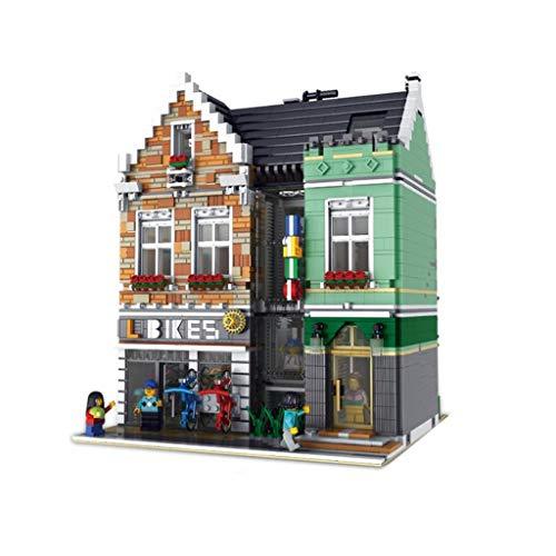 Spielzeug Ministry of Commerce Street View-Fahrrad-Hoch Schwierigkeit Erwachsener Assembled Bauklotz-Spielzeug-Modell