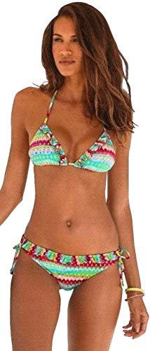 Homeboy Damen Triangel Bikini (bunt, 34A/B)
