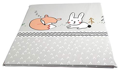Wickelauflage flach, passend für Trend-Welt Wickeltischaufsatz 60 x 70 cm (Fuchs)
