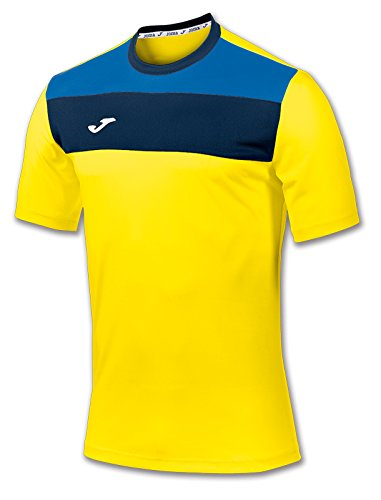 Joma 100224.900 T-Shirt Manches Courtes Sportswear, Jaune, FR : S (Taille Fabricant : S)