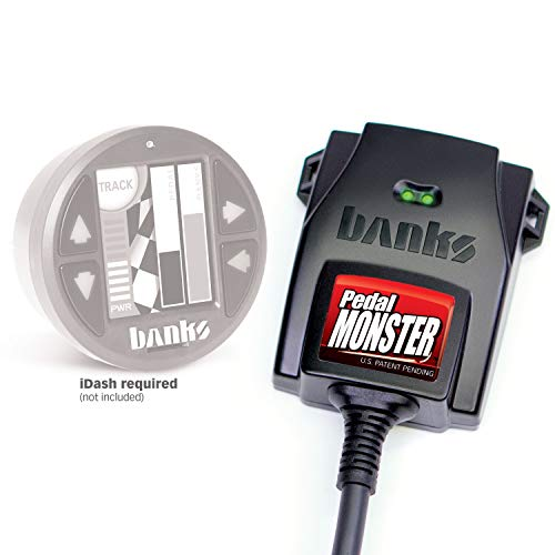 Banks Power 64321 Pedal Monster Kit Aptiv GT 150 6 Way Stand Alone For Use With iDash 1.8