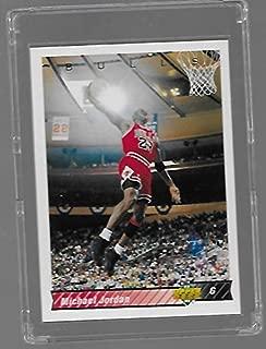 michael jordan upper deck basketball card