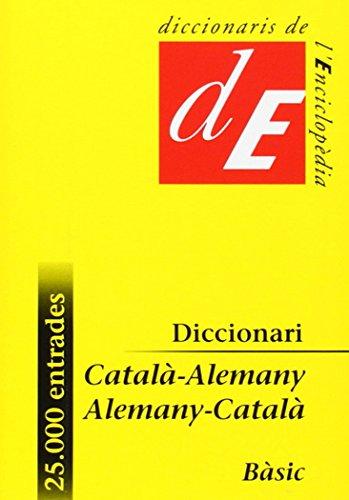 Diccionari bàsic català-alemany, alemany-català (Diccionaris Bilingües, Band 11)