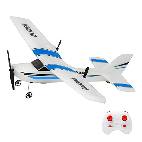 RC Plane 2.4Ghz 2 Channel Remote Control Airplane Ready to Fly,Durable EPP Foam RC Aircraft for Adults and Beginner, Easy & Ready to Fly, Great Gift Toy for Adults or Advanced Kids