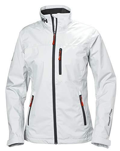 Helly Hansen Damen W CREW MIDLAYER JACKET Jacke, Weiß, Medium