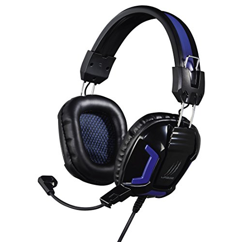 Hama uRage SoundZ Essentia Binaural Kopfband Schwarz, Blau Headset - Headsets (PC/Gaming, Binaural, Kopfband, Schwarz, Blau, Kunststoff, Verkabelt)