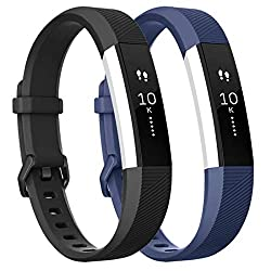 top 10 costco fitbit hr Compatible with the Tobfit Pack2 sports band Fitbit Alta / Alta HR / Ace band, SoftTPU replacement …