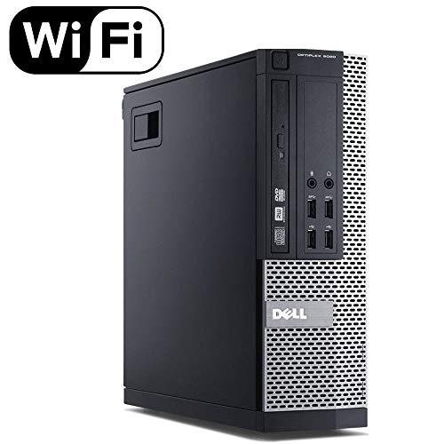 Dell Optiplex 7020 SFF Desktop Computer Tower PC (Intel Core i5-4570, 16 GB Ram, 2 TB HDD, HDMI, WiFi Bluetooth, DVD-RW) Win 10 Pro, 24 Inch Monitor (Renewed)