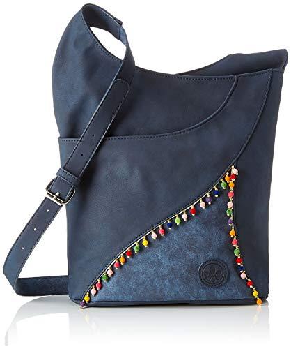 Rieker Damen H1430 Tasche, 10x29x30 cm