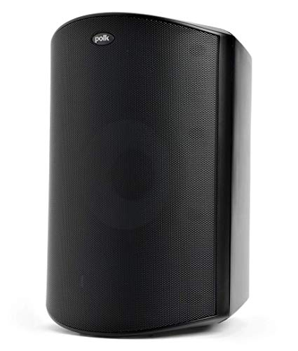 Polk Audio Atrium 8 SDI Flagship Outdoor All-Weather Speaker (Black) - Use as Single Unit or Stereo Pair | Powerful Bass & Broad Sound Coverage