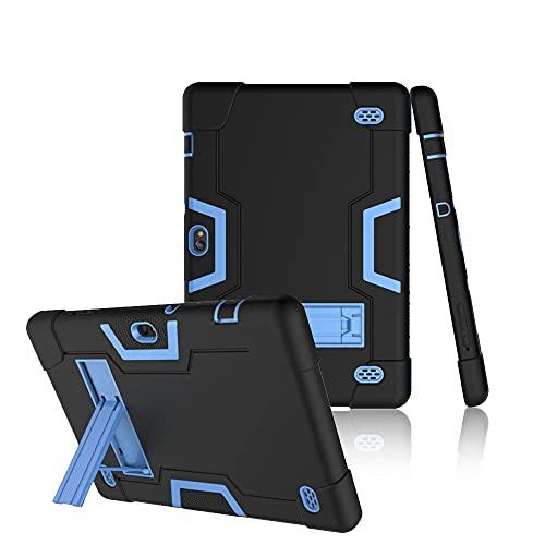 Koolbei Case for Vankyo Z4 Pro, Heavy-Duty Drop-Proof and Shock-Resistant Rugged Hybrid Case Built-in Stand, for Vankyo MatrixPad Z4 / Vankyo Z4 Pro/Llltrade 10 inch Tablet (Black/Blue)