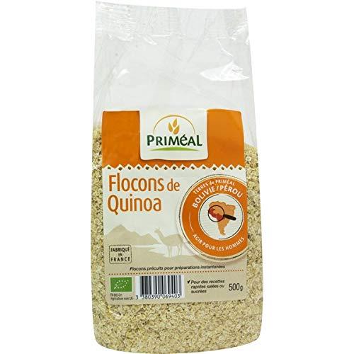 PRIMÉAL - Flocons De Quinoa 500G - Lot De 3