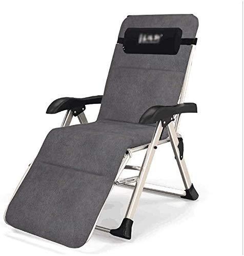 Klappstuhl-Liege für das Büroleben, Schlafsofa im Büro, Lazy Remote Chair, tragbarer multifunktionaler Garten-Liegestuhl (Farbe: C)