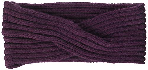 PIECES Damen PCVIRTULA Twisted Cashmere Headband NOOS Stirnband, Rot (Winetasting), One Size
