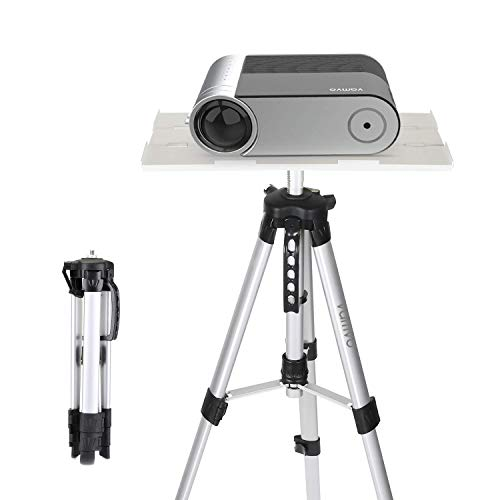 Projector Stand, Vamvo Tripod Projector Stand, Portable Adjustable Laptop Stand, Floor Stand Holder Adjustable Height…