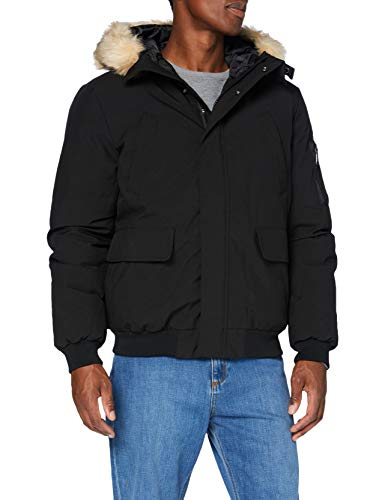 Schott NYC Keyburn Chaqueta, negro, Large para Hombre