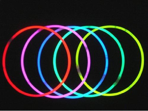 Partner Jouet - PHLEV5082 - Décoration - Collier Fluo Multicolore - Boîte de 50