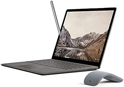 """$1199 Get Microsoft Surface Laptop Arc Mouse and Pen Bundle, 13.5"""" 2256x1504 Touchscreen, Intel Core i7, 16GB RAM, 512GB SSD - Graphite Gold"""