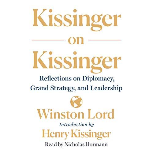 『Kissinger on Kissinger』のカバーアート