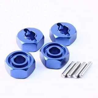 Yeah Racing Aluminum Wheel Adapter Set 4 pcs (DB) for Traxxas Slash 4x4 TSL-018DB