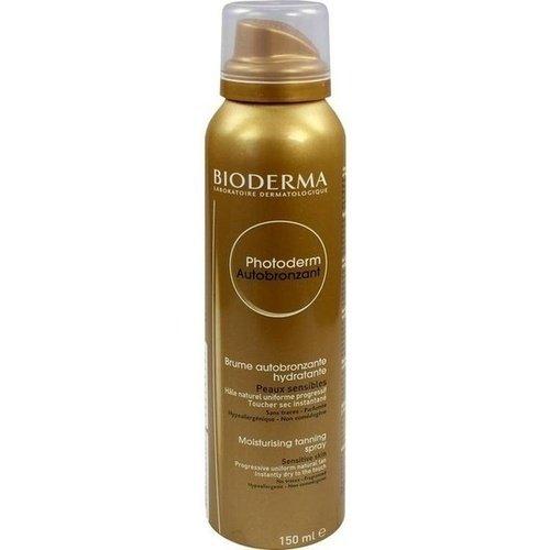 BIODERMA Photoderm Autobronzant Selbstbräuner Spray, 150 ml Lösung