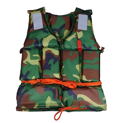 Schwimmweste Schwimmen Jacke, Camouflage Weste Wasser Sport Leben Schwimmweste Treibender Schnorchel-Schwimmanzug Schwimmschwimmweste Angelschwimmweste