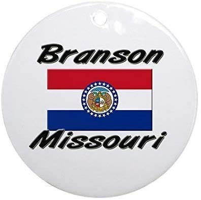 happygoluck1y Branson Missouri Christmas Ornaments Personalized,Keepsake Ornaments for Christmas Tree,2020 Christmas Memorial Ornament,for New Home,Kids,Friends