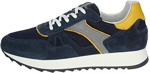 Nero Giardini E001500U Sneakers Uomo in Pelle E Camoscio - Incanto 41 EU