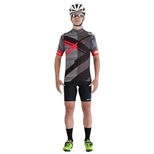 Camisa Ciclismo RH-29 Preto Tamanho:GG
