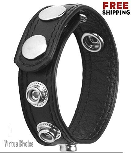 1ZZ6226 Leather Ring Max Luxury 46% OFF Speed 5 Ball Enhancer Stim Harness Enlarger
