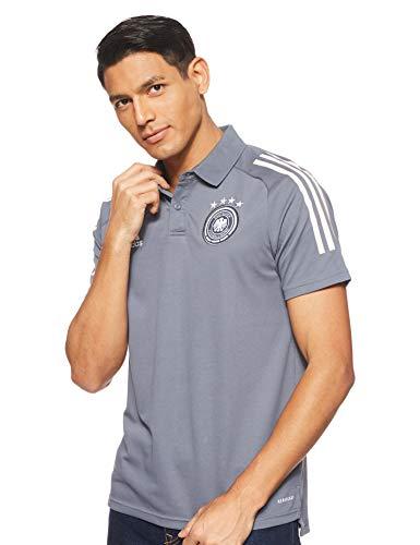 adidas Herren DFB Polo, Onix, L