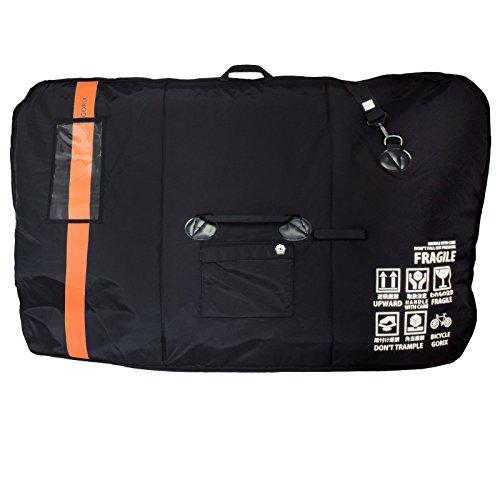 GORIX(ゴリックス) 自転車用輪行袋 [車載・飛行機・航空輸送向き] キャリングバッグ(オレンジ) GX-Ca1