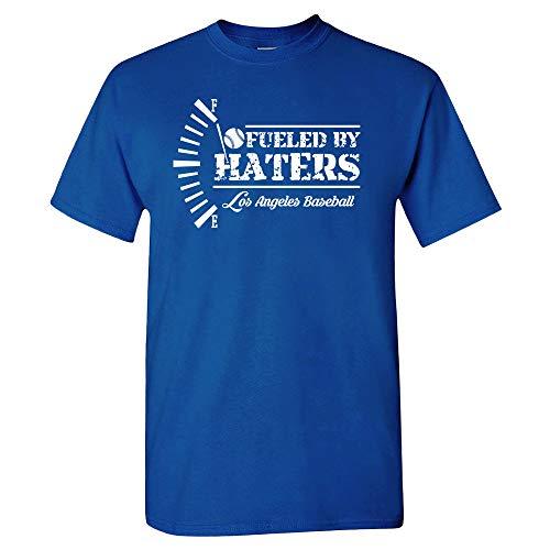 Los Angeles Baseball Fans LA T-Shirt (Royal, XL)