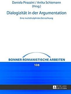 Dialogizitaet in der Argumentation: Eine multidisziplinaere Betrachtung