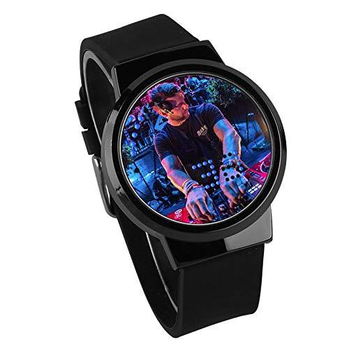 Relojes De Pulsera,Pantalla Táctil LED Reloj Impermeable Luminoso...