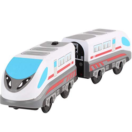 NEWMAN771Her Nuevo Tren eléctrico, vía magnética, Tren de Carga de la era...