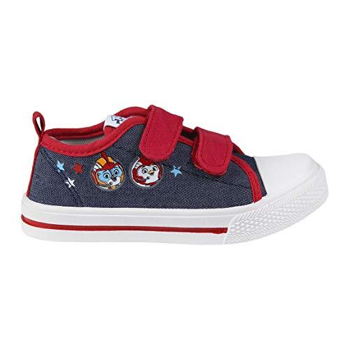 Cerdá Zapatillas Top Wing para Niño con Cierre de Velcro de Color Azul, 31 EU