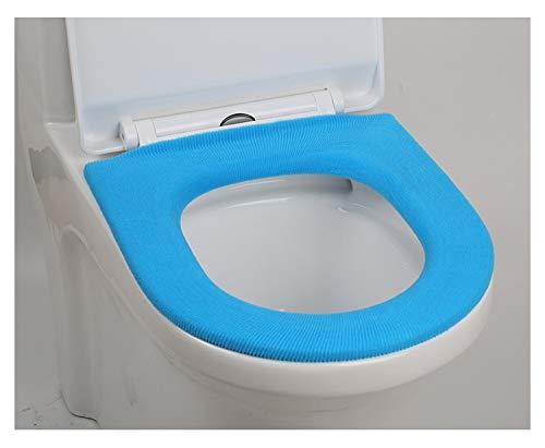 Colore : 4 Toilet Mat Morbido Caldo Lunga Tavolette Copriwater Peluche Zerbino 1 PC Pad Coperchio Confortevole Lavabile Chaud Salut WC