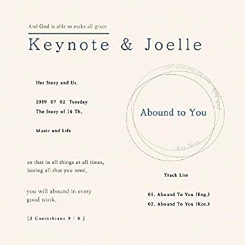 Abound to You (Devotional Essay)