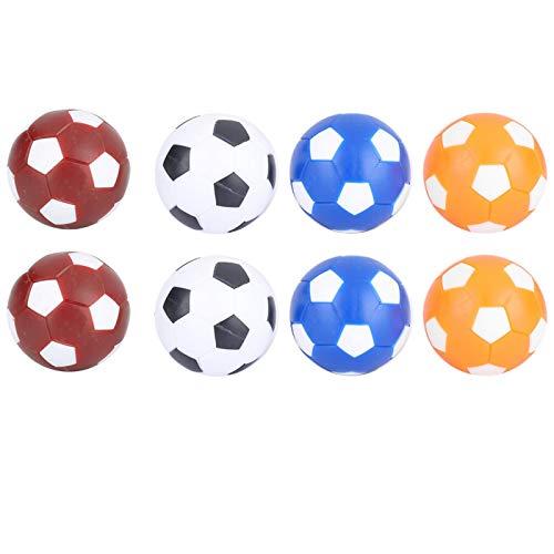 DAUERHAFT Juguetes durables del balón de fútbol de la Tabla de la Mini Bola de los balones de fútbol de Goma Material, para Interior